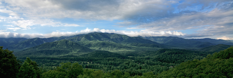 Smoky Mountains Panorama No.1 - Panoramas