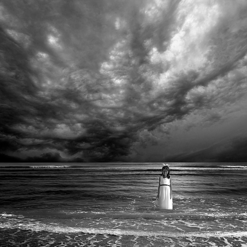 Storm Coming - Imaginary Worlds in Black & White