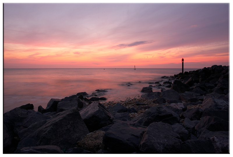 Sunset at Hunstanton, Norfolk - Other Images