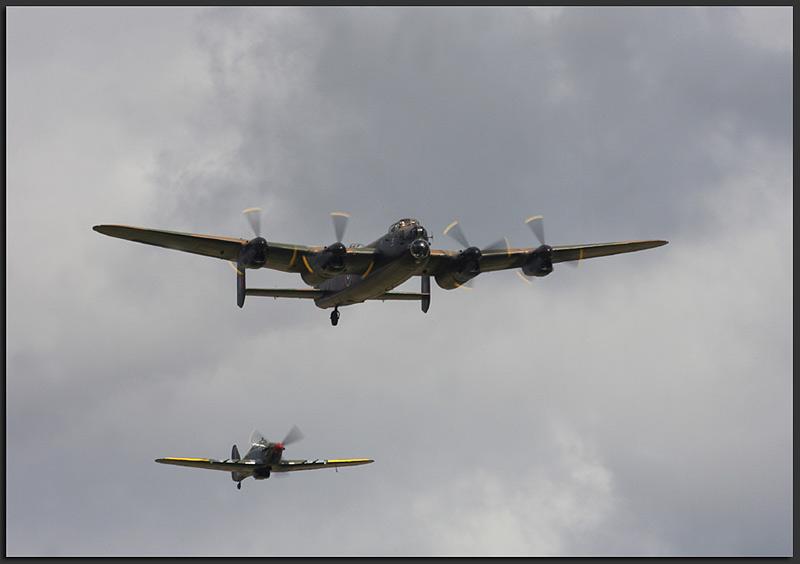 Avro Lancaster & Hurricaine - Aviation