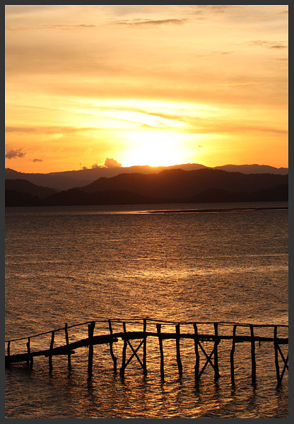 Sunset from Abangaritos - Costa rica