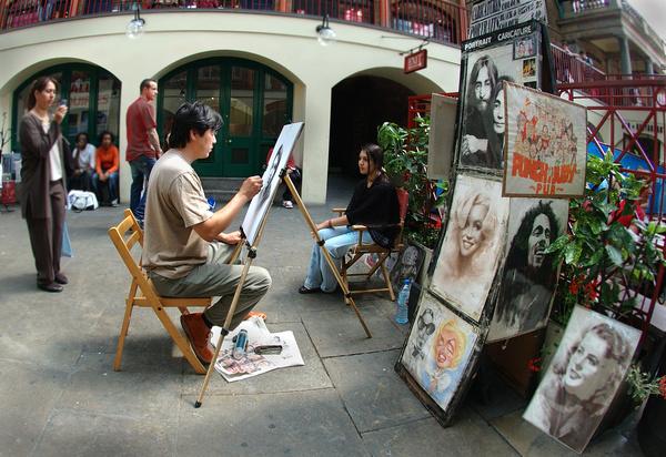 Street artist - Street photography/people