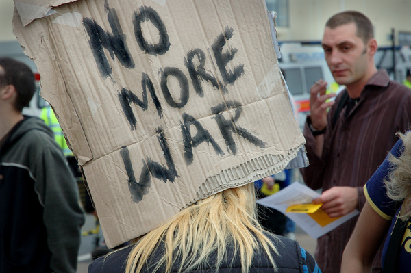 War protest - Protest