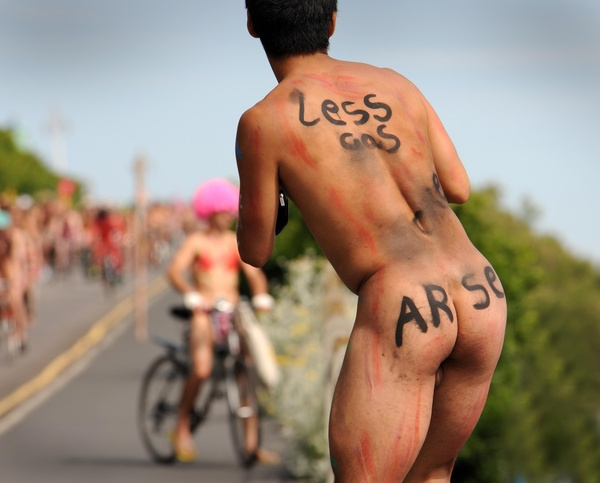 Brighten naked bike ride - Various