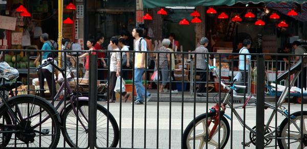 Market street - Hong Kong