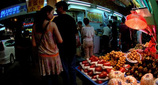 Fruit market - Hong Kong