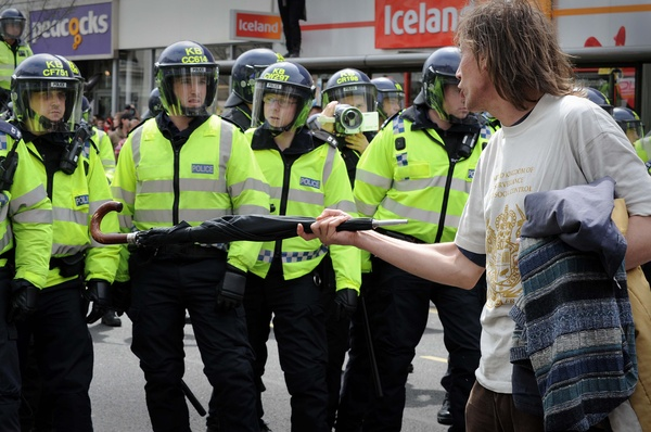 Brighton 4th May 2009 - Protest