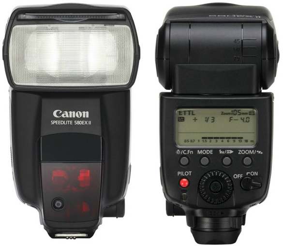 Canon 580EX II Speed Light for Hire - Camera Speed Light & Accessories