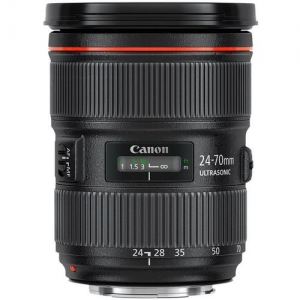 Canon Lens 24-70mm EF f/2.8L II USM for Hire - Canon Lenses or Hire