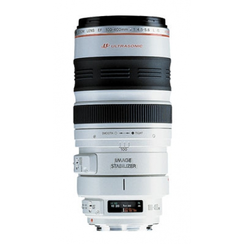 Canon Lens 100-400 EF f/4.5-5.6L IS USM for Hire - Canon Lenses or Hire