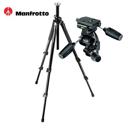 Photography Video MANFROTTO 055XPROB TRIPOD 808RC4 for Hire - Stands, Tripods, Booms