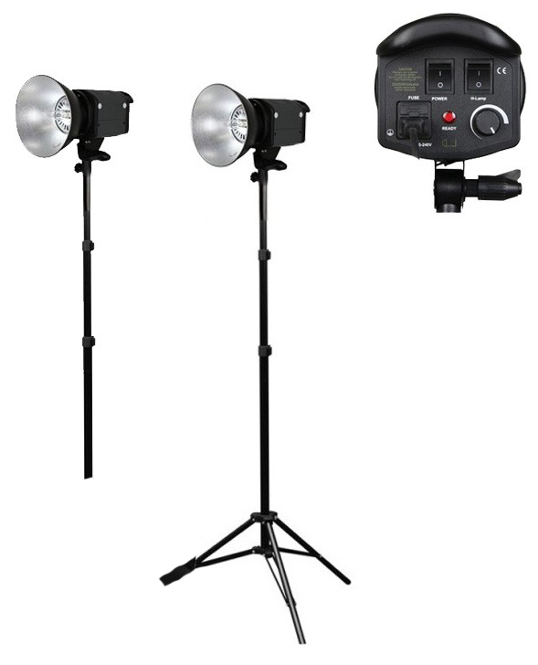 Photography Video 2 x 1000w Halogen Video Lights 3200K for Hire - Lighting Photography Video