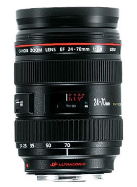 Canon EF24-70L EF 24-70mm f/2.8L USM Lens for Hire - Canon Lenses or Hire