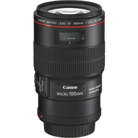 Canon Lens 100mm EF f/2.8L IS Macro For Hire - Canon Lenses or Hire
