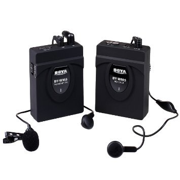 Boya By-WM5 Wireless Lavalier for Hire - Audio and Sound Equipment for Hire
