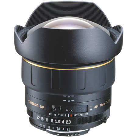 Tamron SP AF 14mm 2.8 Canon Lens for Hire - Canon Lenses or Hire