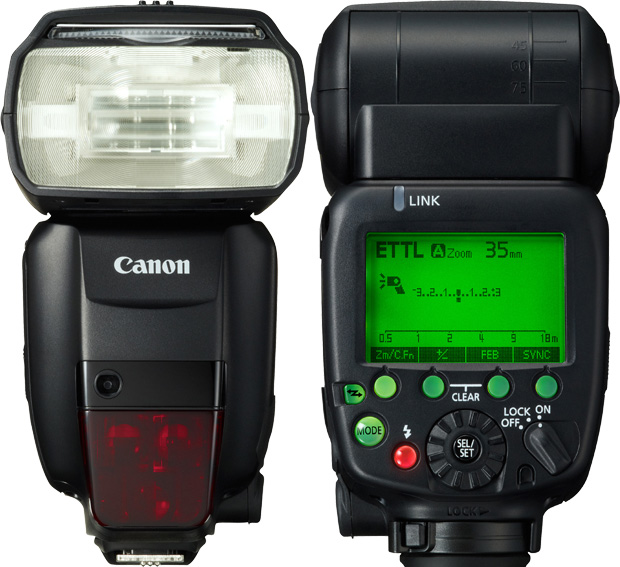 Canon 600EX-RT radio-controlled Speedlite for Hire - Camera Speed Light & Accessories