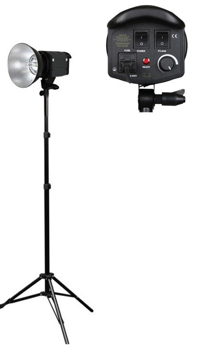 Photography Video 1 x 1000w Halogen Video Lights 3200K for Hire - Lighting Photography Video