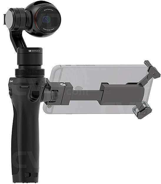 Dji OSMO stabilised 4K Video 12 meg Camera for Hire - New Dji OSMO Video Camera