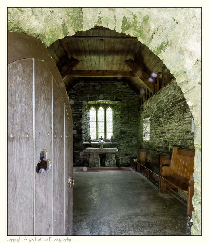 Entering St.Clether's Chapel - Holy Wells and Sacred Springs