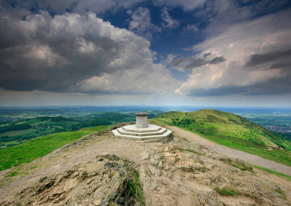 At the Top - The Malvern Hills