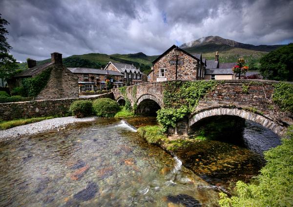 Beddgelert Village - Celtic Wales