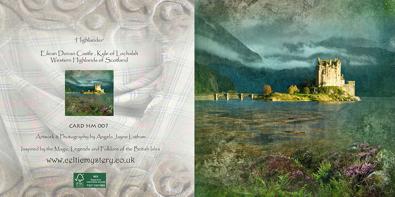 HM 007 'Highlander' , Eilean Donan Castle - Spirit of the Highlands