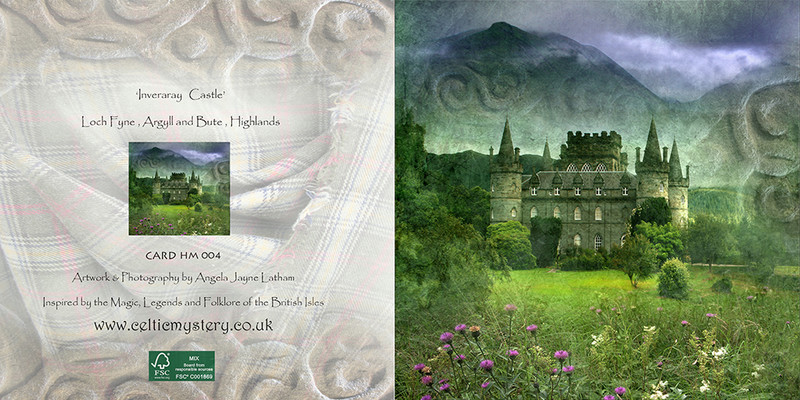 HM 004 Inveraray Castle, Loch Fyne - Spirit of the Highlands