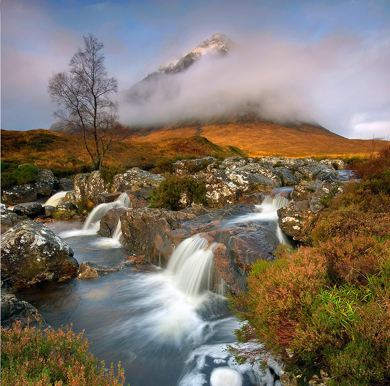 PS038 The Misty Mountain - Scottish Landscapes