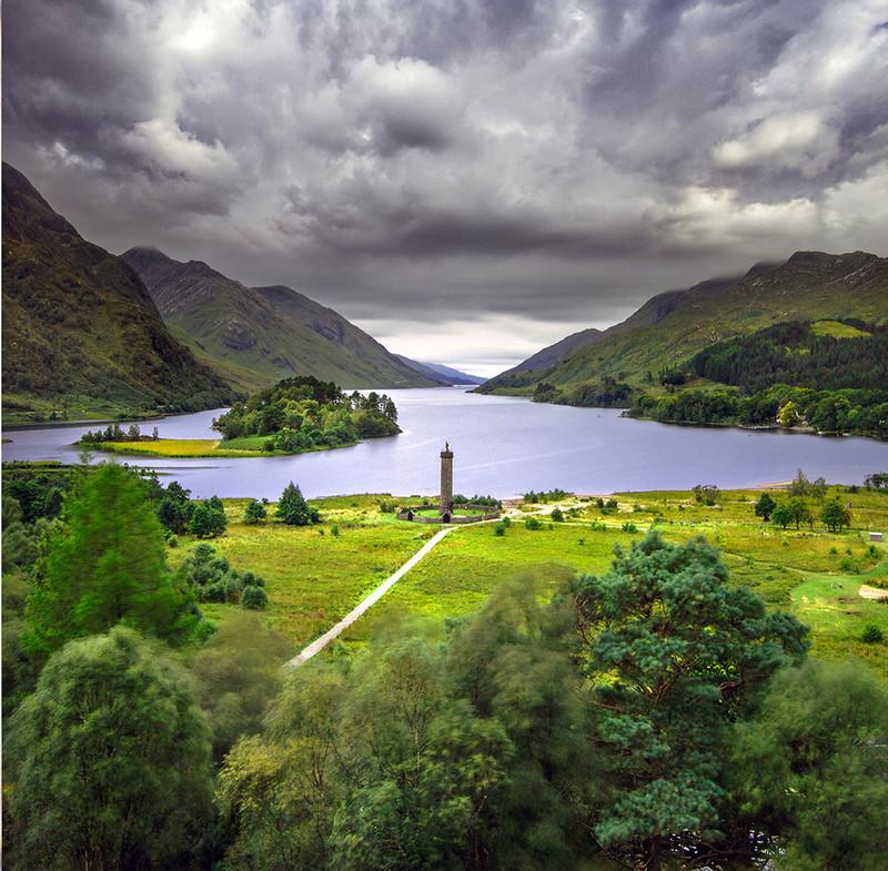 PS081 Glenfinnan Monument - Scottish Landscapes