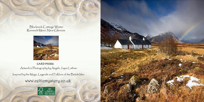 PS086 Blackrock Cottage Winter - Scottish Landscapes