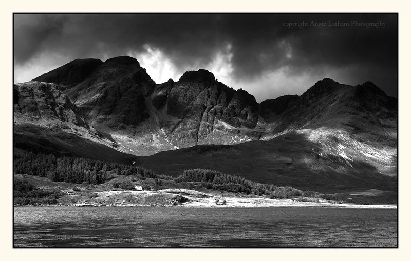 Black Cuillin Ridge 2 - Skye BW - Black & White