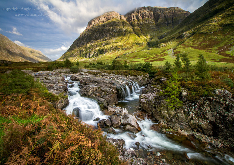 Glencoe Falls - Highlands of Scotland