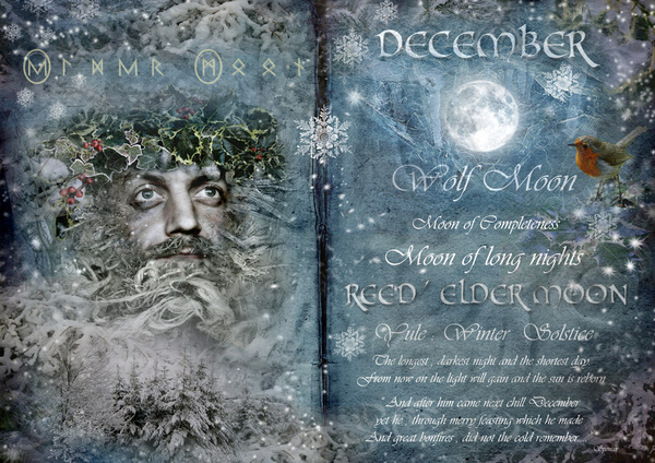 December - Reed/Elder Moon - The Wheel of the Year