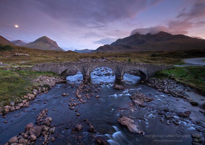 Sligachan Moonrise 3 - Isle of Skye