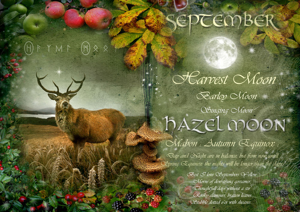 September / Hazel Moon - The Wheel of the Year
