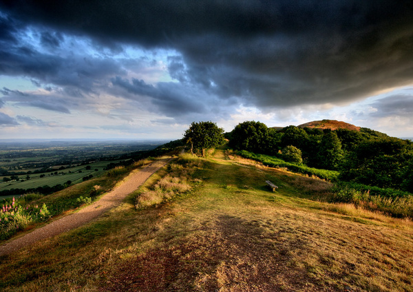Storms over British Camp - The Malvern Hills