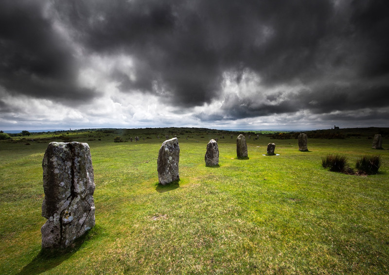 The Hurlers, Bodmin Moor - Ancient Sites