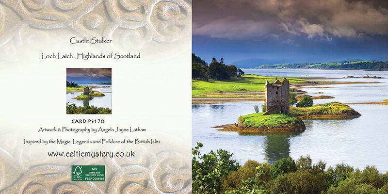 PS170 Castle Stalker - Scottish Landscapes