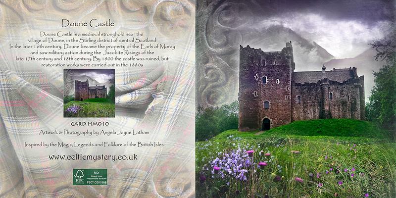 HM 010 Doune Castle , Stirling - Spirit of the Highlands