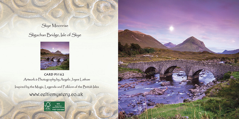 PS162 Skye Moonrise - Scottish Landscapes