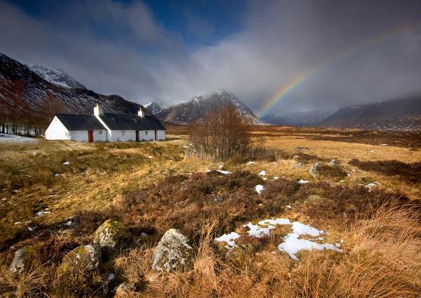 Blackrock Rainbow - Highlands of Scotland