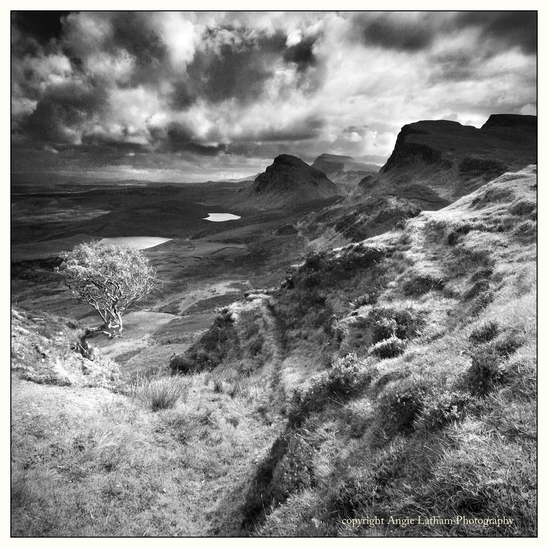Trotternish - Skye BW - Black & White