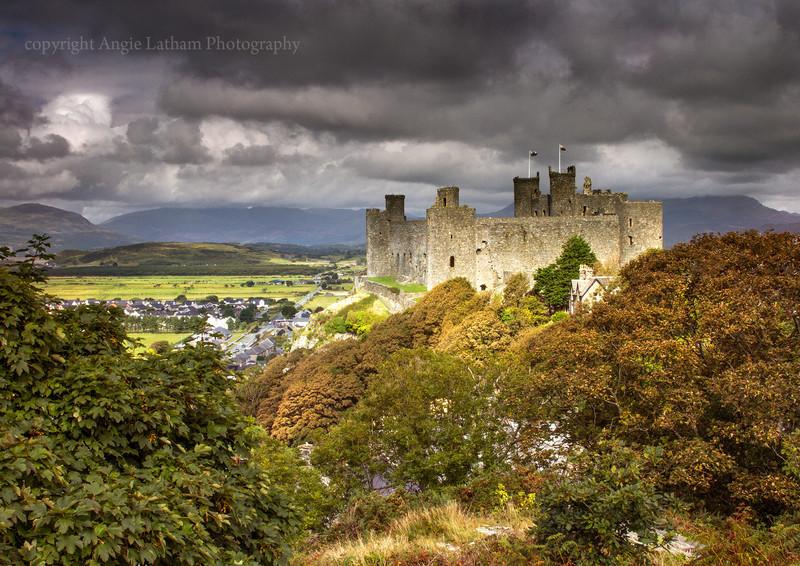 Harlech Castle - Celtic Wales