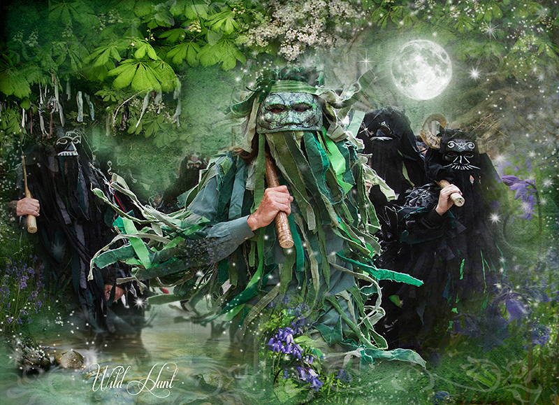 Wild Hunt - Mayday Morris dance - The Wheel of the Year