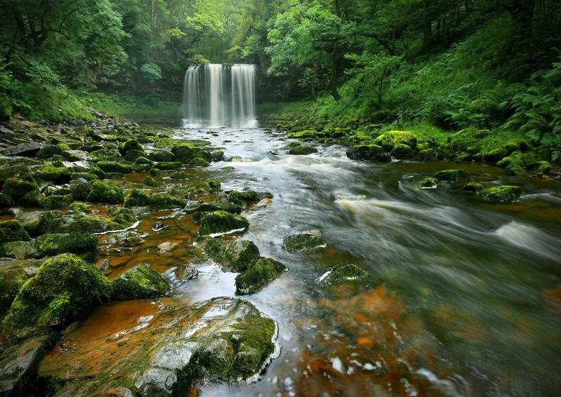 Sgwd-yr-Eira Waterfall - Celtic Wales