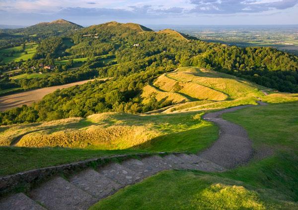 Summer on British Camp 3 - The Malvern Hills