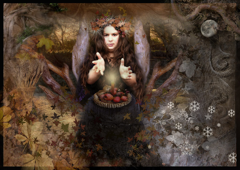 Goddess of Autumn Equinox - The Wheel of the Year