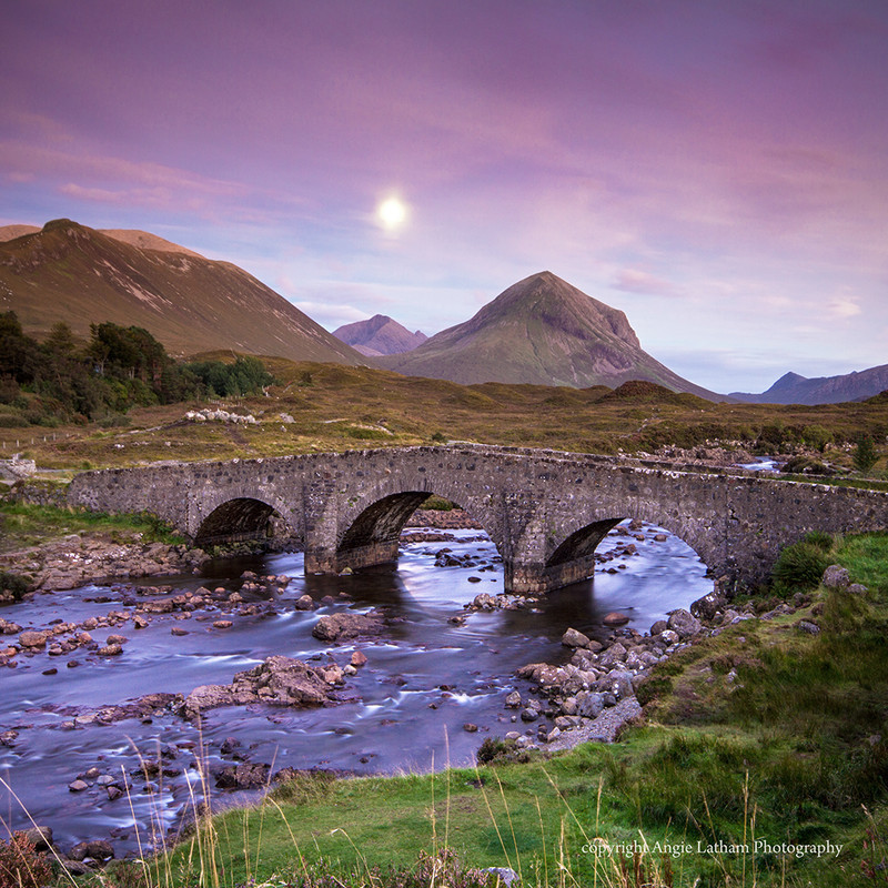 NEW! PS162 Skye Moonrise - Scottish Landscapes
