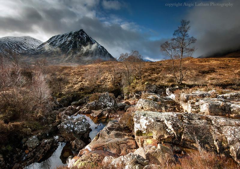 Glen Etive Winter Morning - Highlands of Scotland